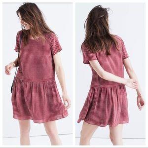 Madewell Silk Ascot Tile Dress Size 8